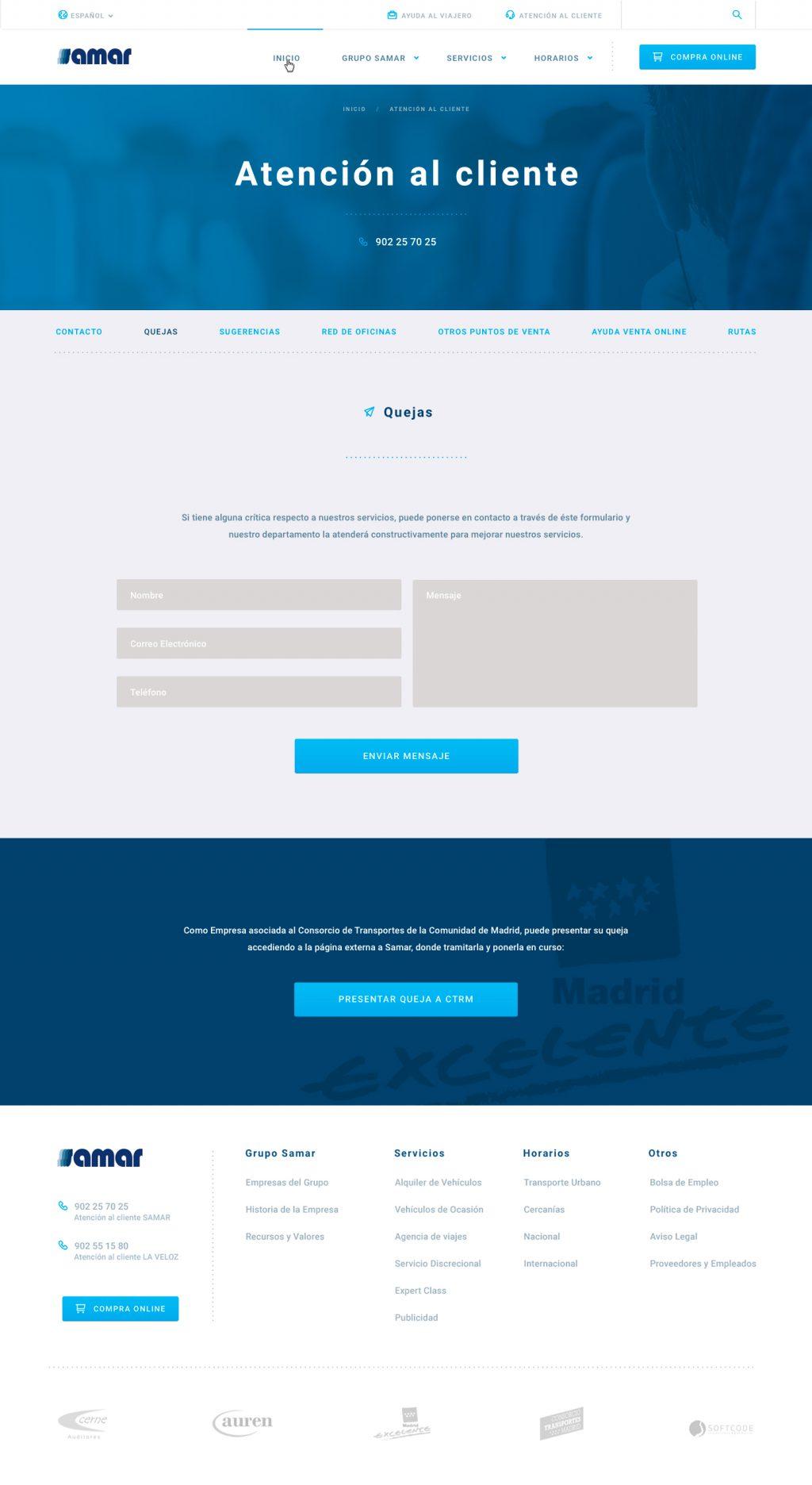 Maquetación web responsive UXQ