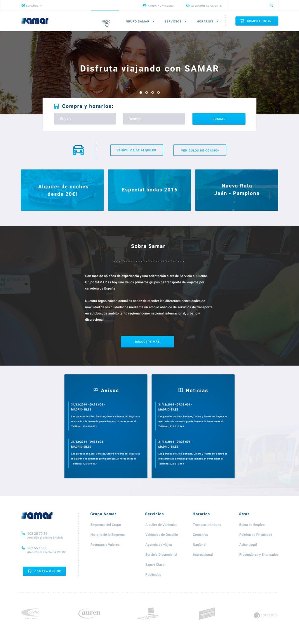 Maquetacion web responsive front-end
